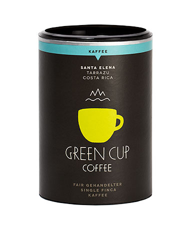 kaffee kaufen kaffeebohnen santa elena green cup coffee. Black Bedroom Furniture Sets. Home Design Ideas